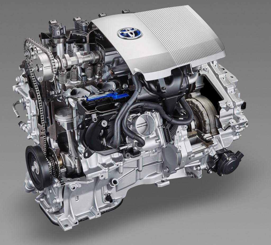1.8-liter 2ZR FXE.