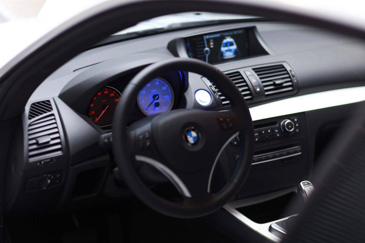 BMW ActiveE Concept Electric Car is Next Step After MINI E