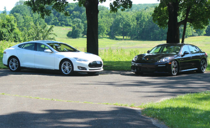 Comparable Cars To The Tesla Model
