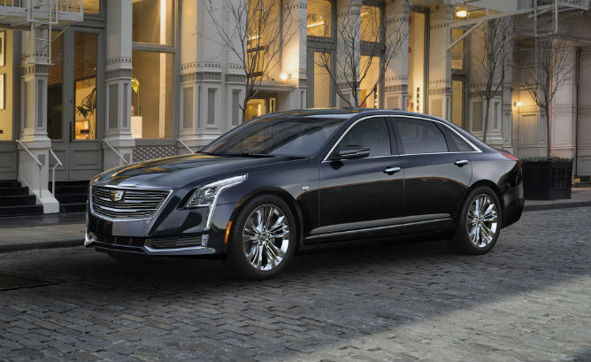 Cadillac Revealed CT6 PHEV a little earlier t…