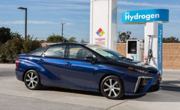 Toyota's Mirai FCV is not available yet outside a limited market in California, but states are preparing for it and other FCVs. Toyota says the Northeast corridor from New England states down to New Jersey is next to get it.
