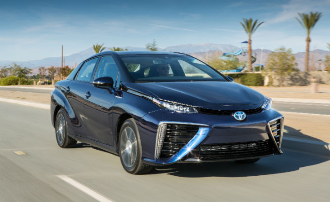 EPA rates 312 miles range for Toyota Mirai