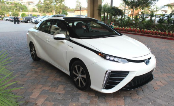 The Mirai offers 312 miles range, and when a pump is available, can refill in minutes. While enthusiastically received by many, it has been blasted by plug-in advocates as keeping consumers tied to petroleum interests, wedded to the pump, and for using hydrogen with an energy equation that makes less sense than ever-improving battery dependent cars with far more infrastructure in place. FCV proponents not least of which being Toyota meanwhile argue the other side.