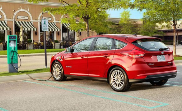 Ford Focus EV. Range was increased this year, but the 200 mile new car is further off.