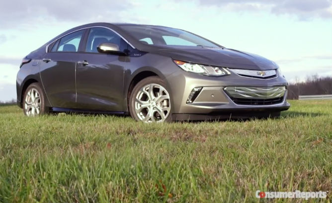 Consumer Reports' 2016 Volt first drive video…