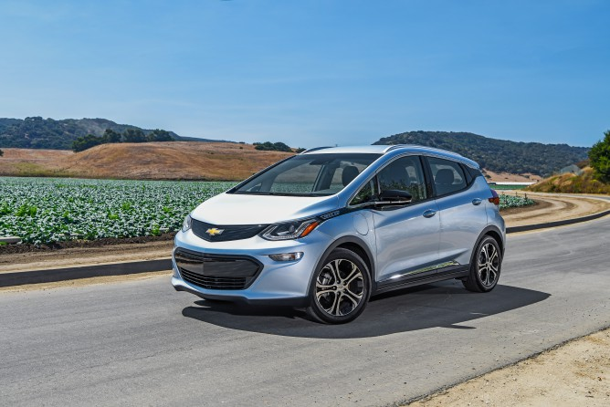 2017 Chevy Bolt EV Priced From $37,495; Premi…
