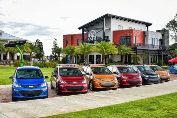 General Motors Sole Electric Vehicle The Cheerful Chevrolet Bolt Will See Its Msrp Stand Firm In Face Of An Ev Tax Credit That Drops By Half Come