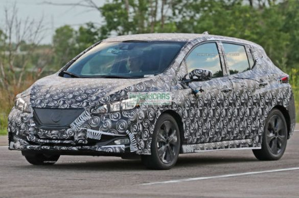 2018 Nissan Leaf Spy Photos Reveal Much More …