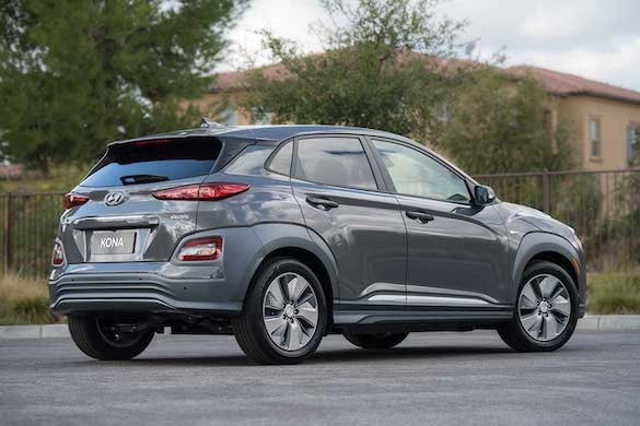2019 Hyundai Kona Electric Pricing Targets The Chevy Bolt Gm Volt