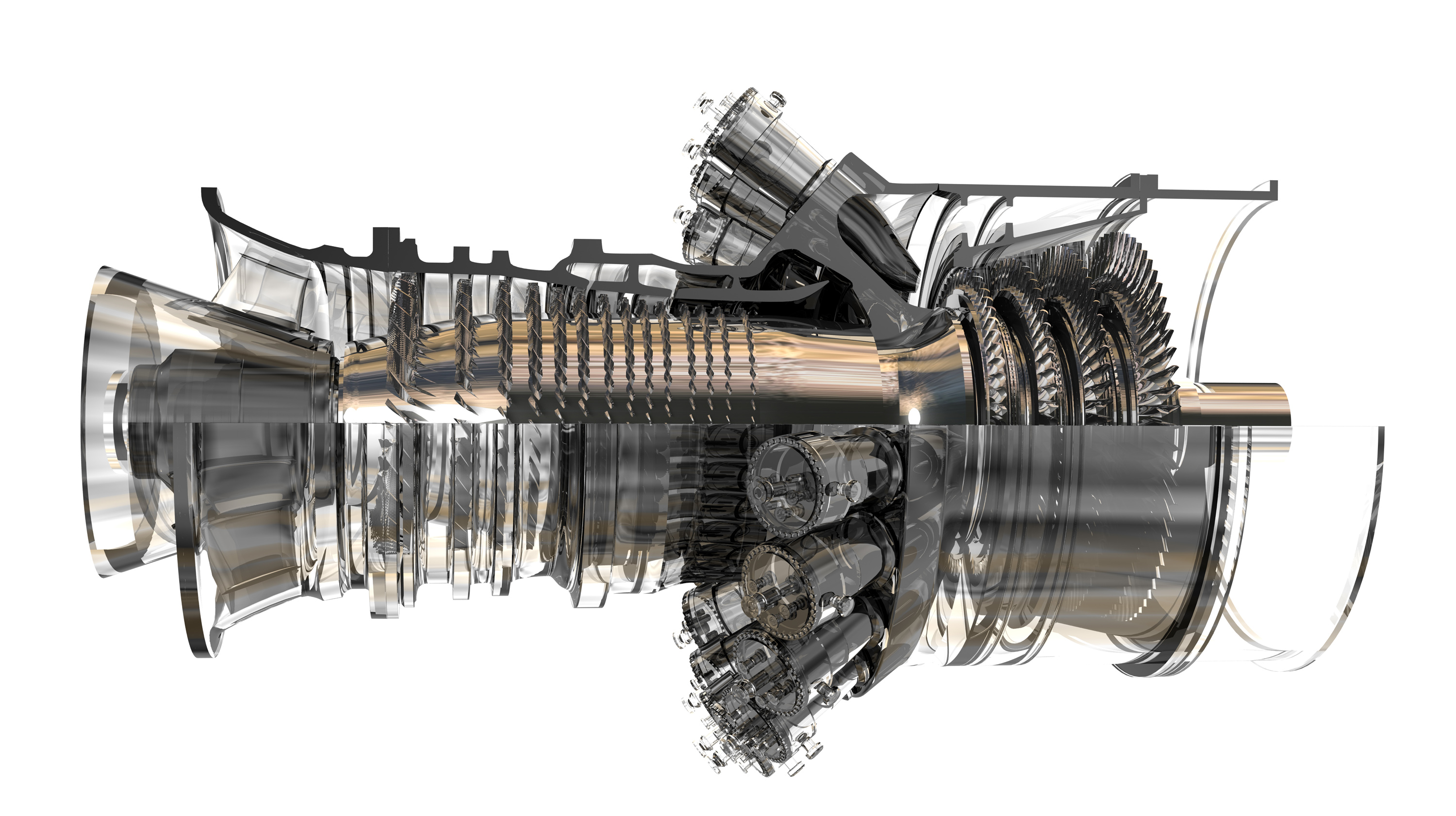 GE Energy s FlexEfficiency 50 power plant integrates gas steam