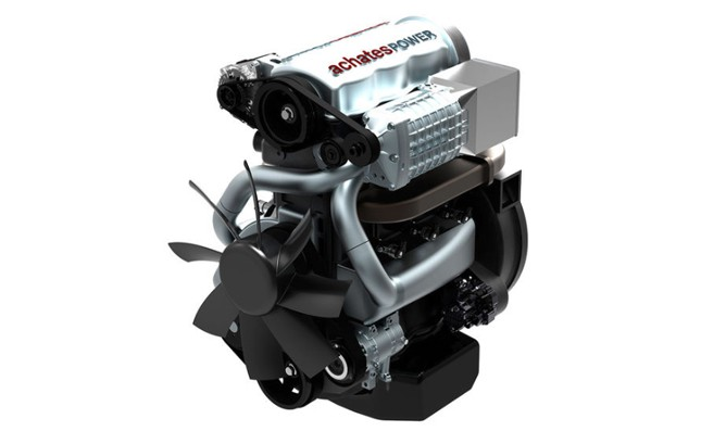 Achates Opposed-Piston Engine Promises 37 mpg…