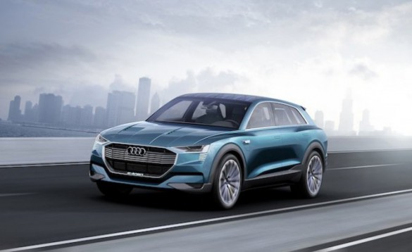 Audi e-tron Quattro.