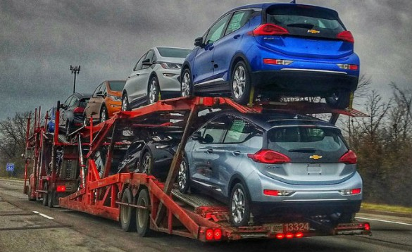 Chevy Bolts Are On Their Way To Dealers