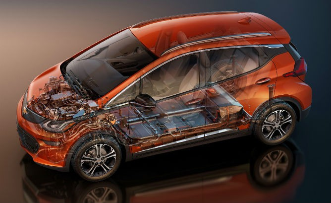 2017 Chevy Bolt Battery Cooling And Gearbox Details Gm Volt