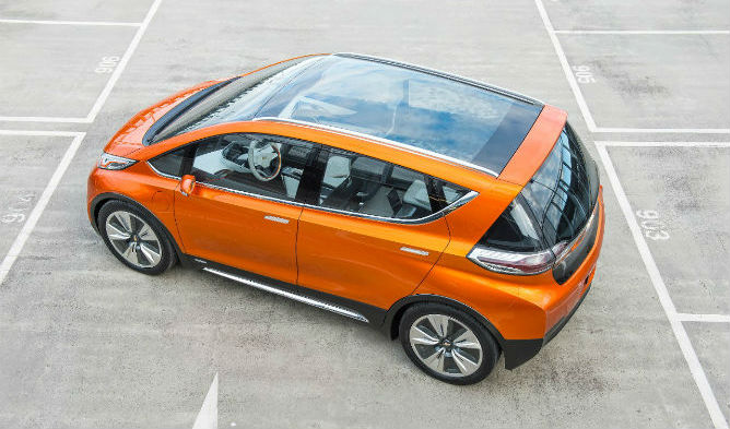 GM predicted in 2013 it was developing a 200-mile range EV but few saw the Bolt coming when revealed alongside the Volt in January. It's been confirmed for production, is expected after incentives to cost around $30,000.