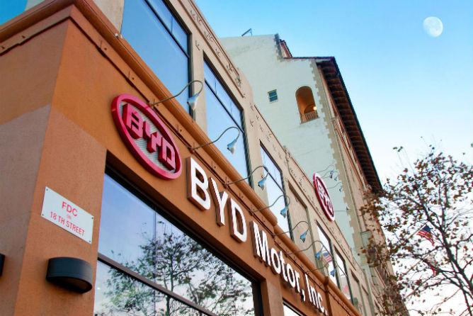 BYD North America.