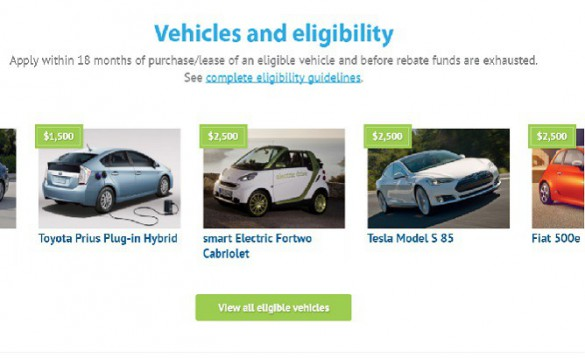 Clean Vehicle Rebate >> California Agrees On 133 Million For Clean Vehicle Rebate
