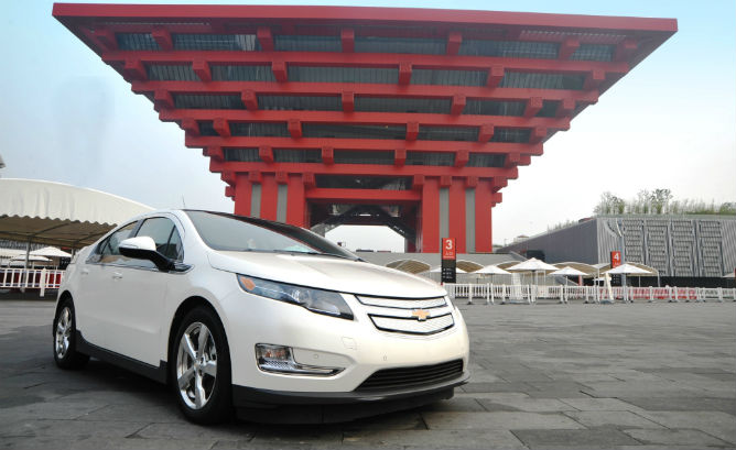 Not a copy! The real Volt, imported from Detroit.