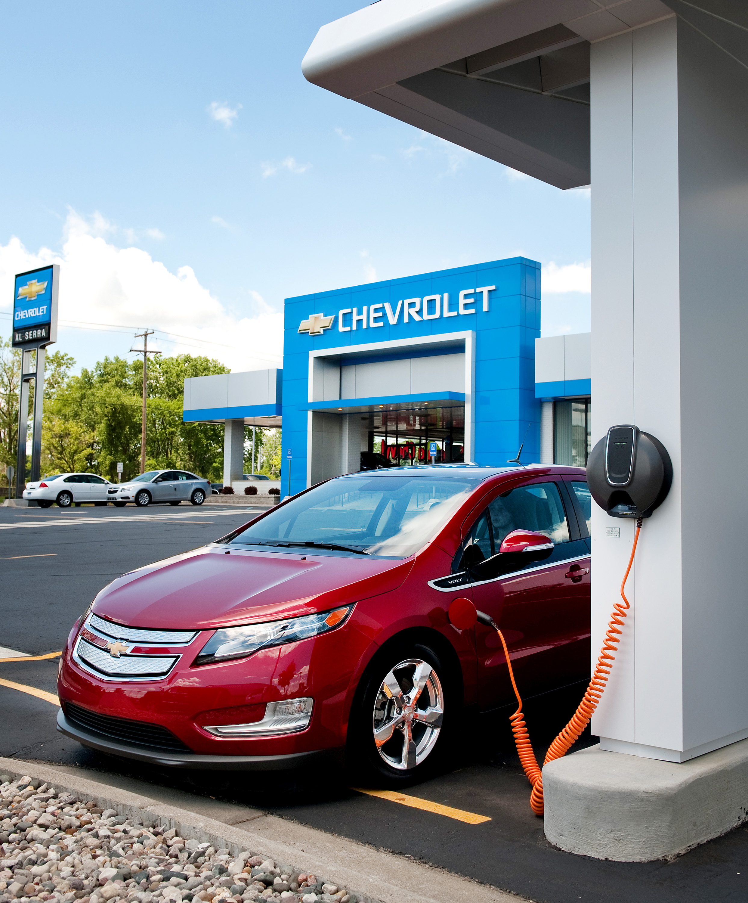 with the Chevy Volt