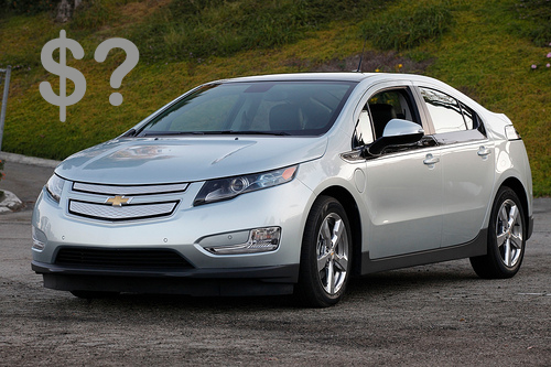 chevy volt. Official: Chevy Volt Will be