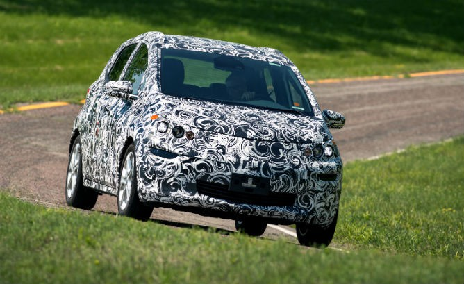 Spy Photos reveal Chevy Bolt interior