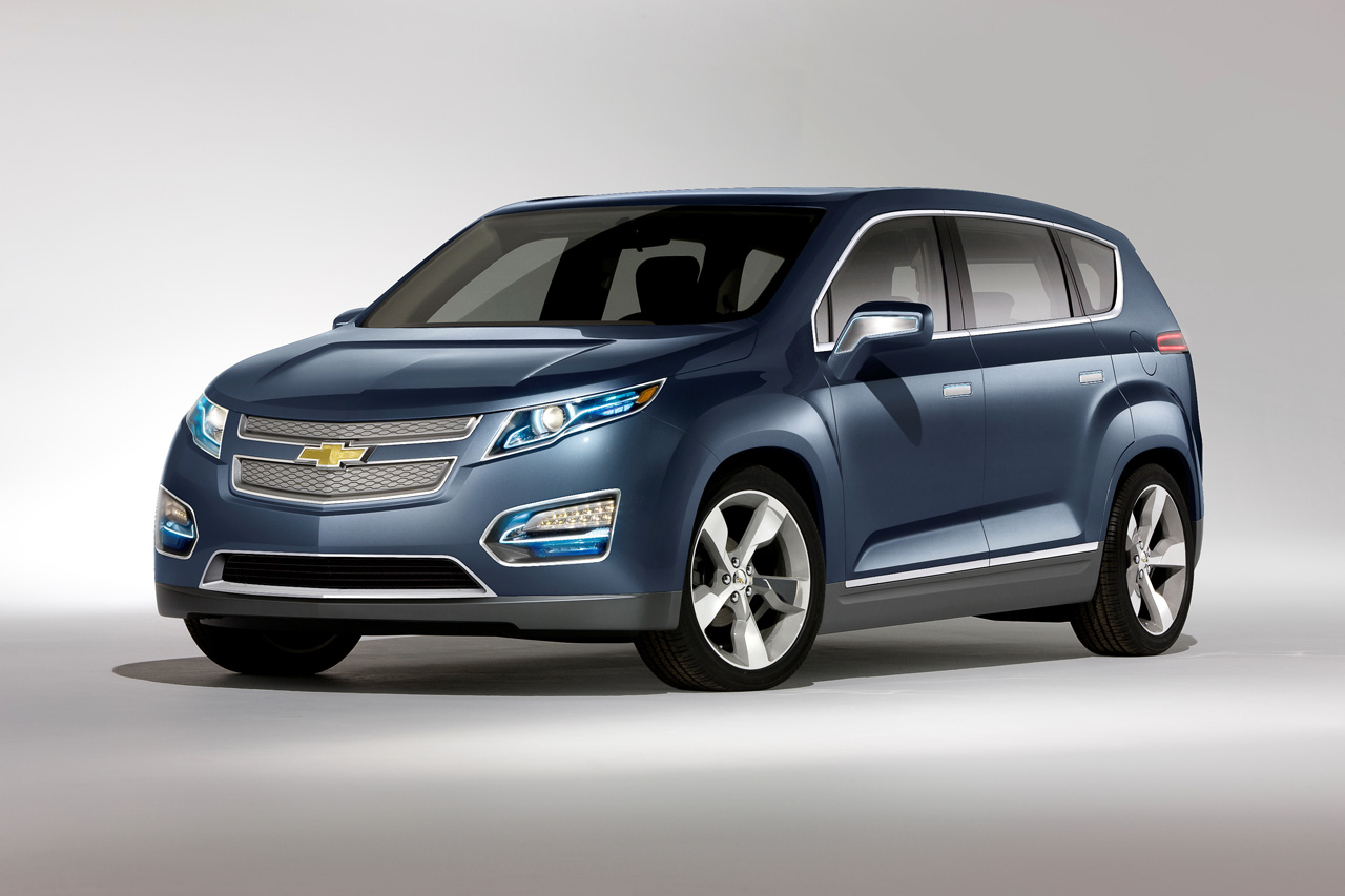 """The five-passenger multi-purpose crossover concept demonstrates the potential of the Voltec propulsion system by utilizing the same foundation as the Volt, for gas- and tailpipe emissions-free electric driving,"" said a Chevrolet press release in April 2010.  To date, the Volt and ELR have been GM's only EREVs."