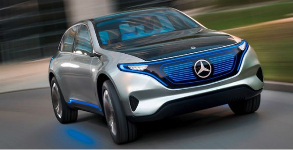 Mercedes Generation EQ Concept. Daimler CEO Dieter Zetsche said it wants to surpass Tesla and lead the EV market by 2025, WITH 15-25 percent of its models projected to be zero-emission vehicles.