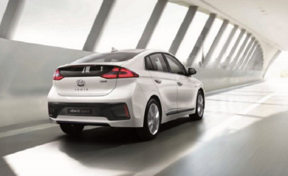 Hyundai Ioniq. NOT the proposed BEV.