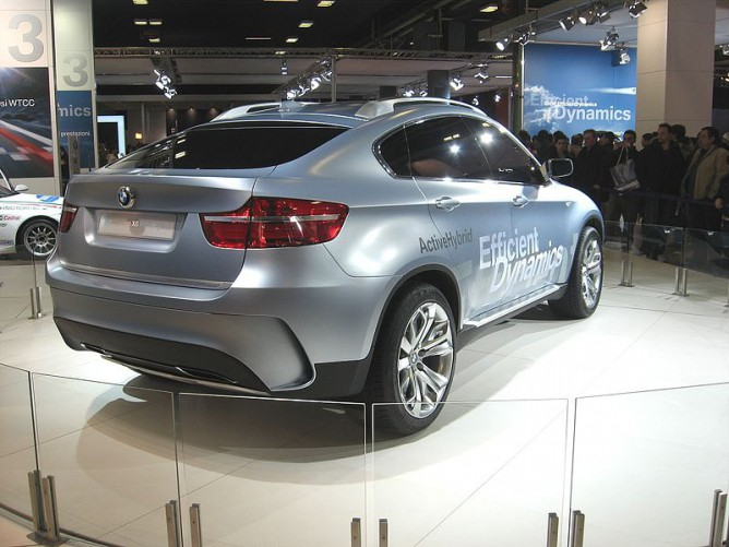 The BMW Active Hybrid X6 using the Two-Mode hybrid transmission.