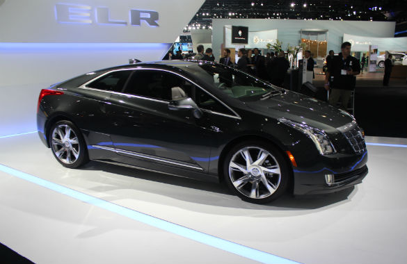 2015 Cadillac ELR to get more electric range - GM-VOLT : Chevy Volt