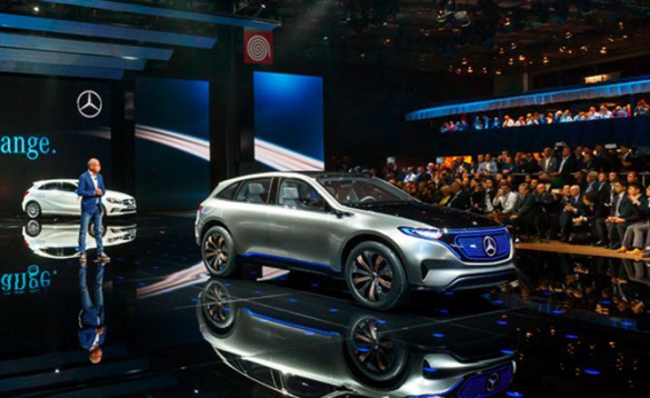 At the Paris Motor Show, Daimler CEO Dieter Zetsche introduced its new EQ brand. The move parallels ongoing initiatives by VW Group and BMW.