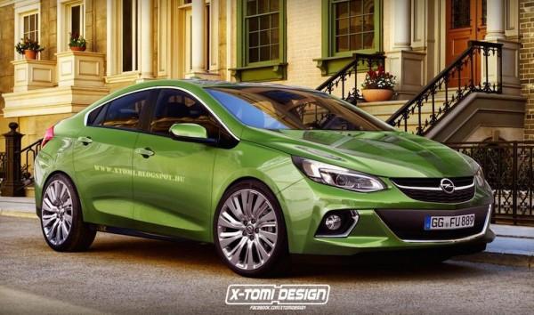 Designer imagines a 2016 Opel Ampera