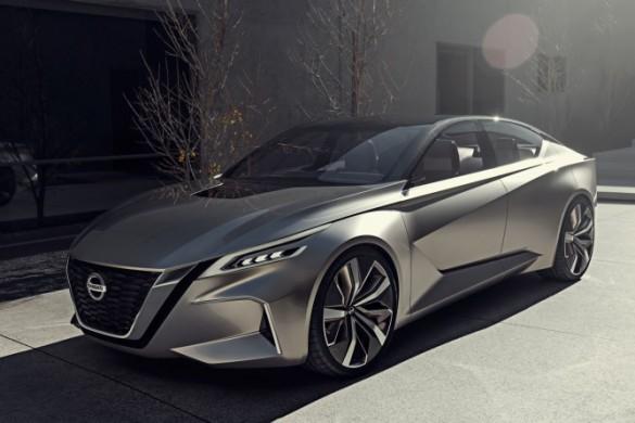 Nissan VMotion autonomous concept.