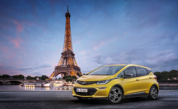 Opel Ampera-e. The resemblance to the Bolt EV is more than skin deep.