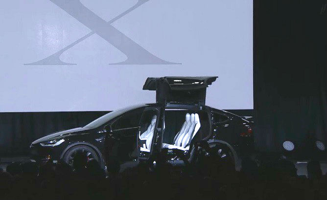 Model X unveiled