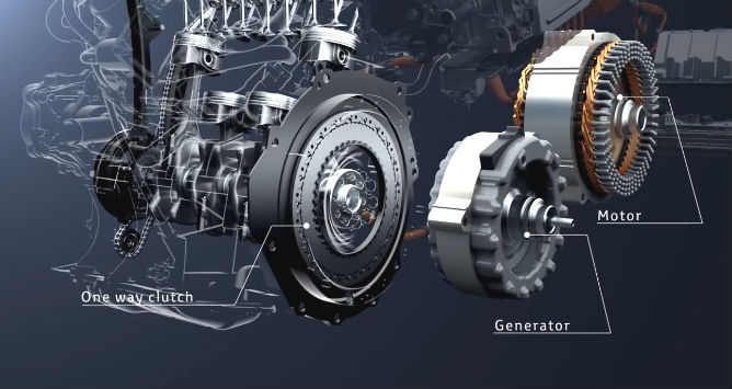 Every Prius Has A Flywheel And Damper Embly Which Sits Between The Engine Hybrid Transaxle Case Contains Electric Motors