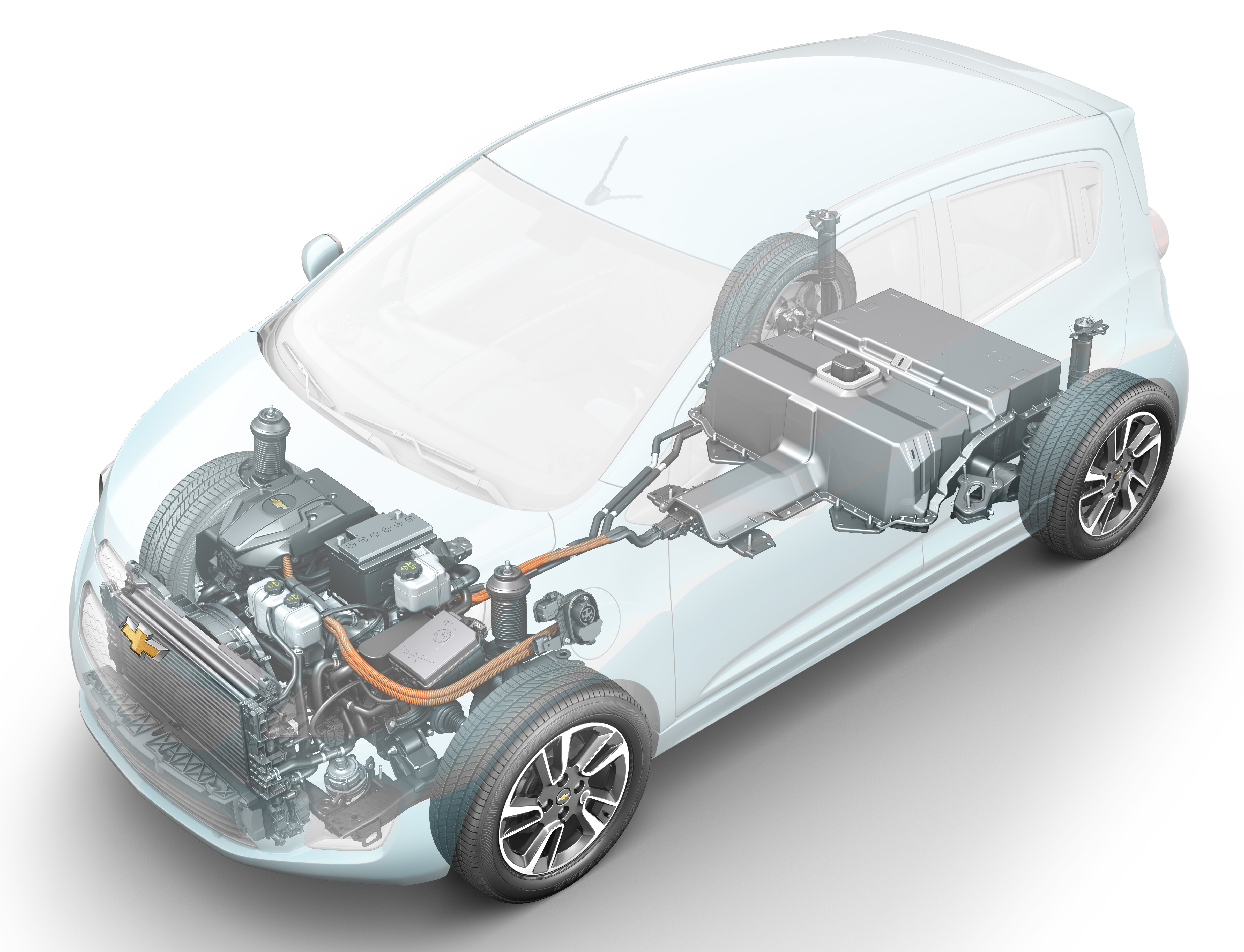 news of the gm    a123 spark ev comes right on time