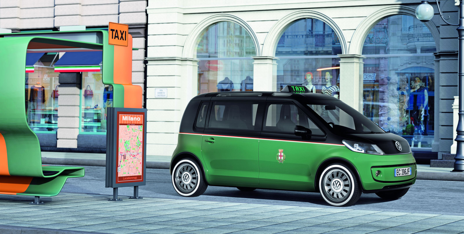 VW Milano Taxi. Another concept shown back in 2010.