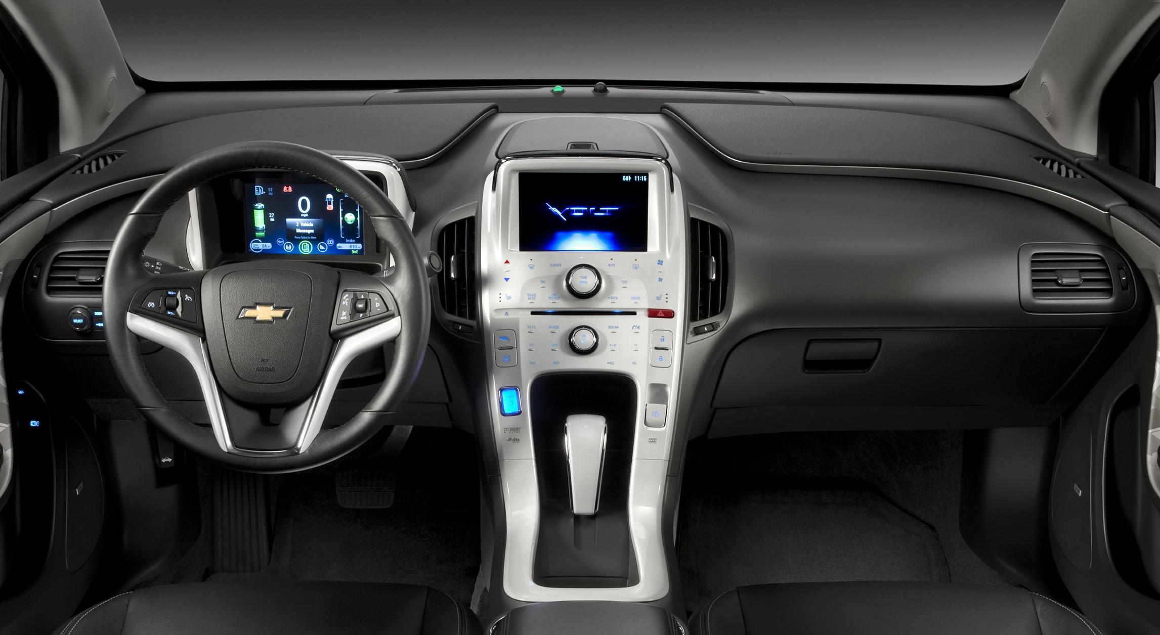 Volt Interior 2017 Production Show Car
